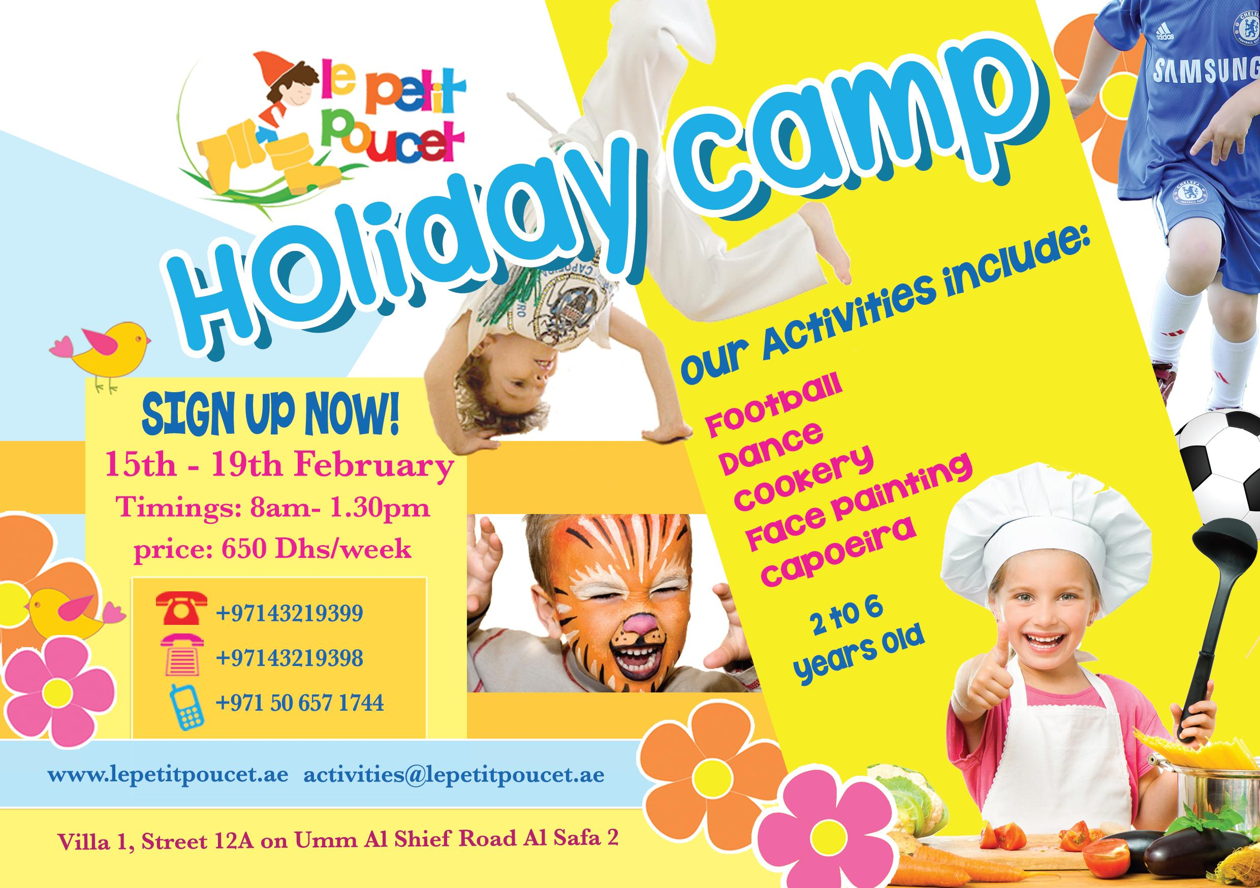 Feb Holiday Camp
