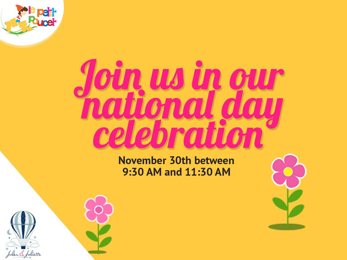 Join us in our national day celebration