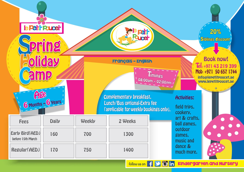 LPP Spring Camp - flyer UK