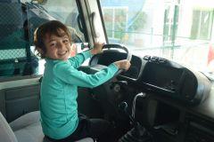 All aboard Le Petit Poucet bus!